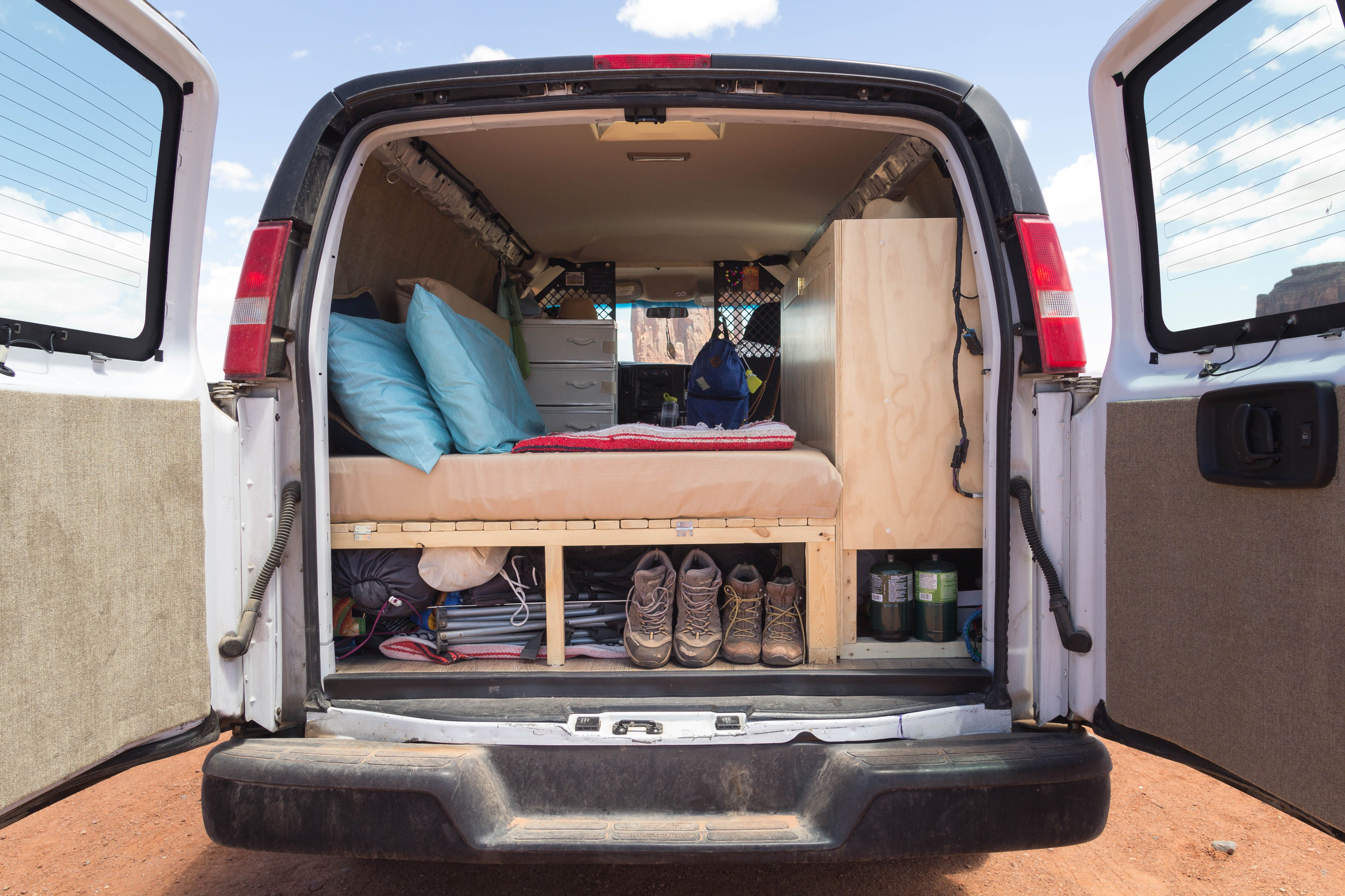 As Part Of Our Cargo Van Conversion We Wanted Easy Access To The