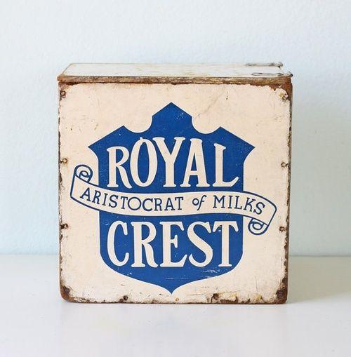 Royal Crest Milk Box