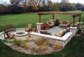 Super landscaping backyard ideas firepit pergolas Ideas