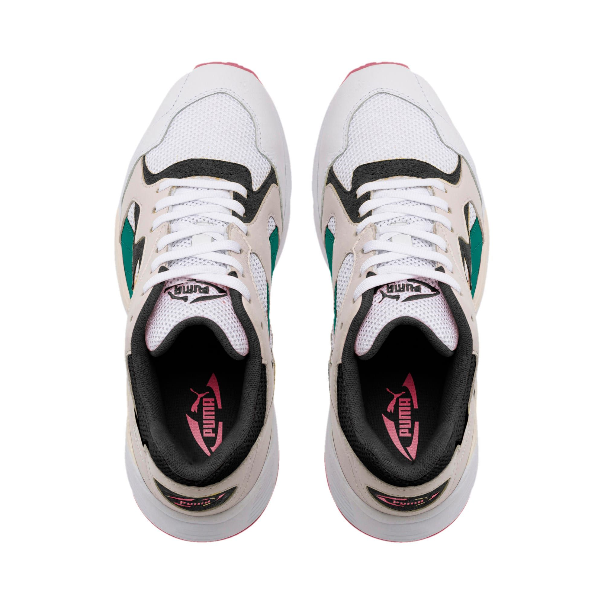 Men's PUMA Prevail Classic Trainers in White/Teal Green size 7.5