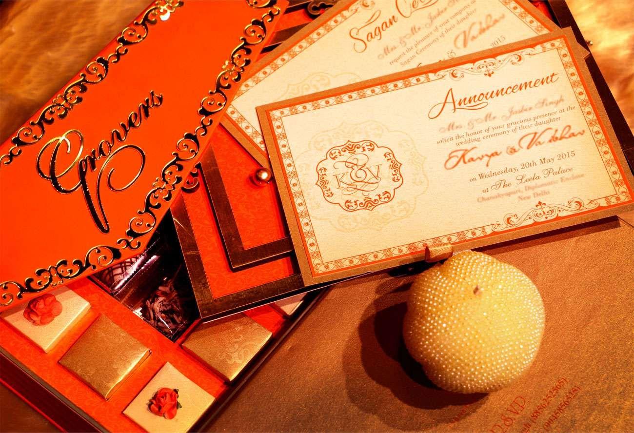 best wedding card manufacturers in delhi%0A ELEGANTORANGE Wedding card designer invitation card by VWI New Delhi   invitationcard  newdelhi  weddinginvitation  weddingbox  weddingcardbox   in u