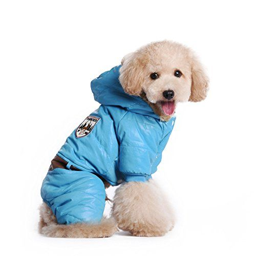 Pety Pet Coats Winter Clothes For Dogs Puppy Blue Apparel Check This Awesome Product By Going To The Link At The Image This I Waterproof Dog Coats Large Dog