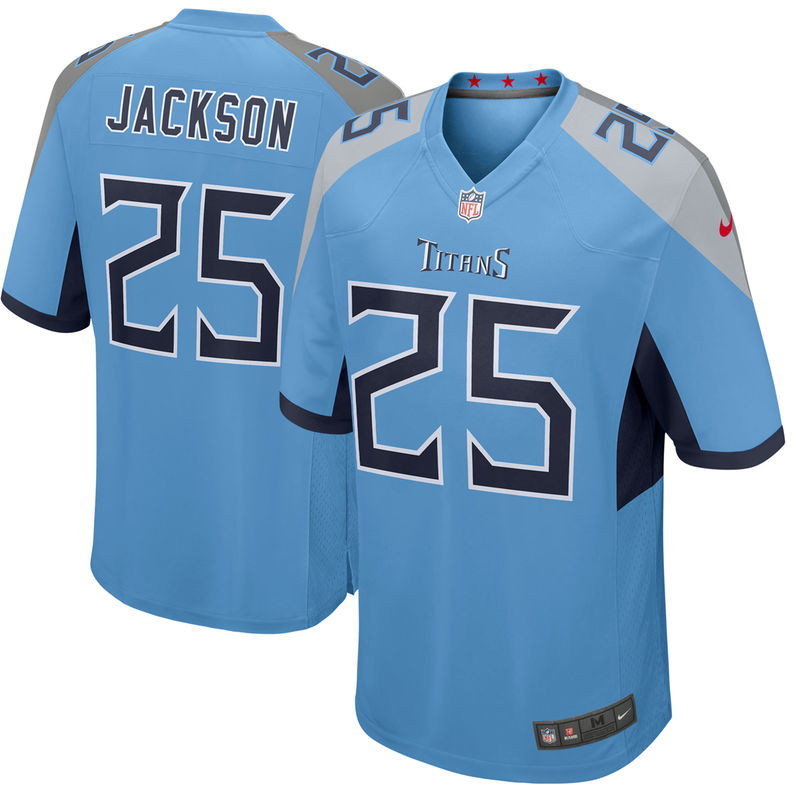 90312223f Adoree  Jackson Tennessee Titans Nike New 2018 Game Jersey – Light Blue