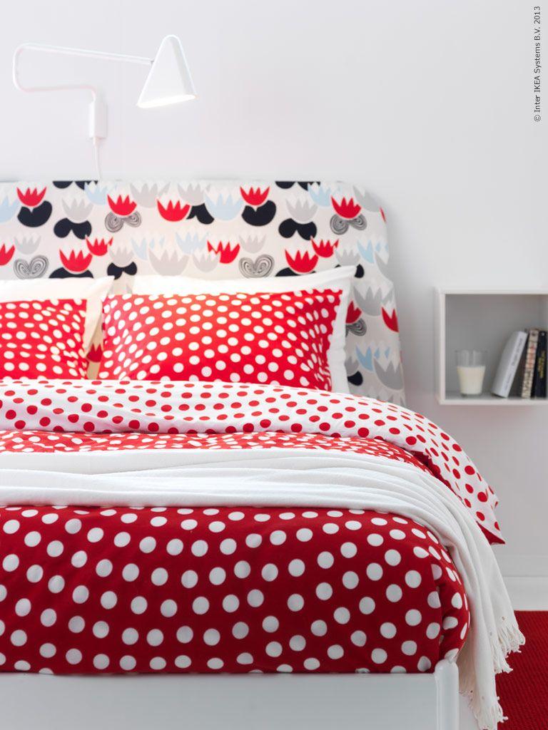 glamorous neeny wishlist ikea bedroom inspiration | Polka Dots in Red & White by Ikea | Home Wish List ...