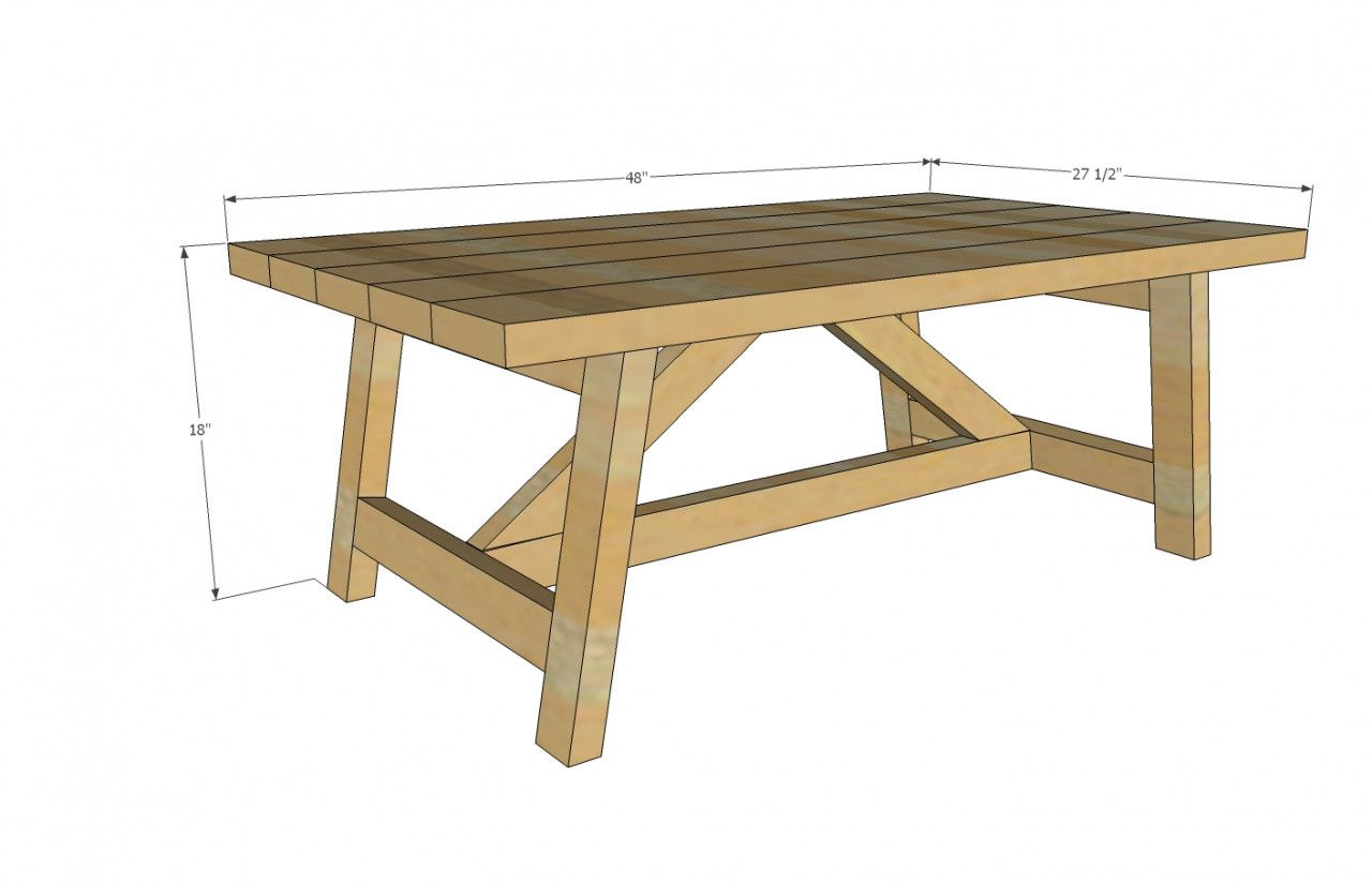 28 Unique 2x4 Coffee Table Plans 2019 Coffee Table Plans Coffee Table Blueprints Diy Coffee Table