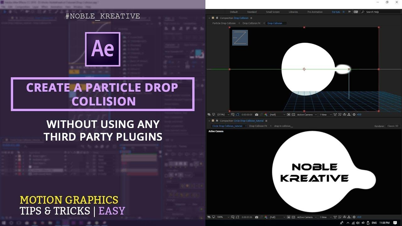 Pin By Noble Kreative On The Best After Effects Tutorial