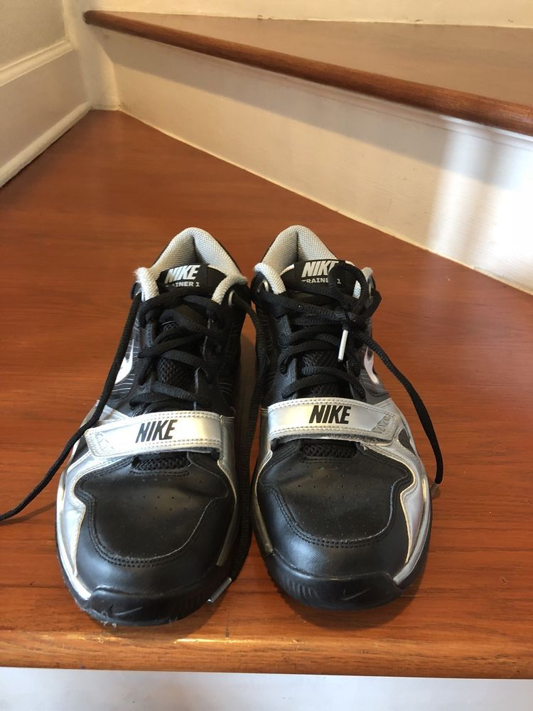 b4ee1ae7740b2 Men Nike TR1 Flywire Black Silver Size 10.5  fashion  clothing  shoes   accessories  mensshoes  athleticshoes (ebay link)