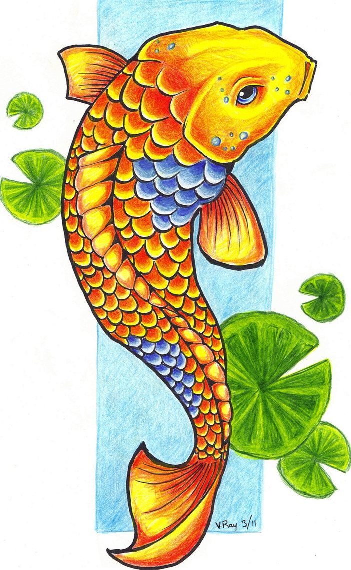 Coy Fish Clip Art Images Koi Fish By Flickter88 On
