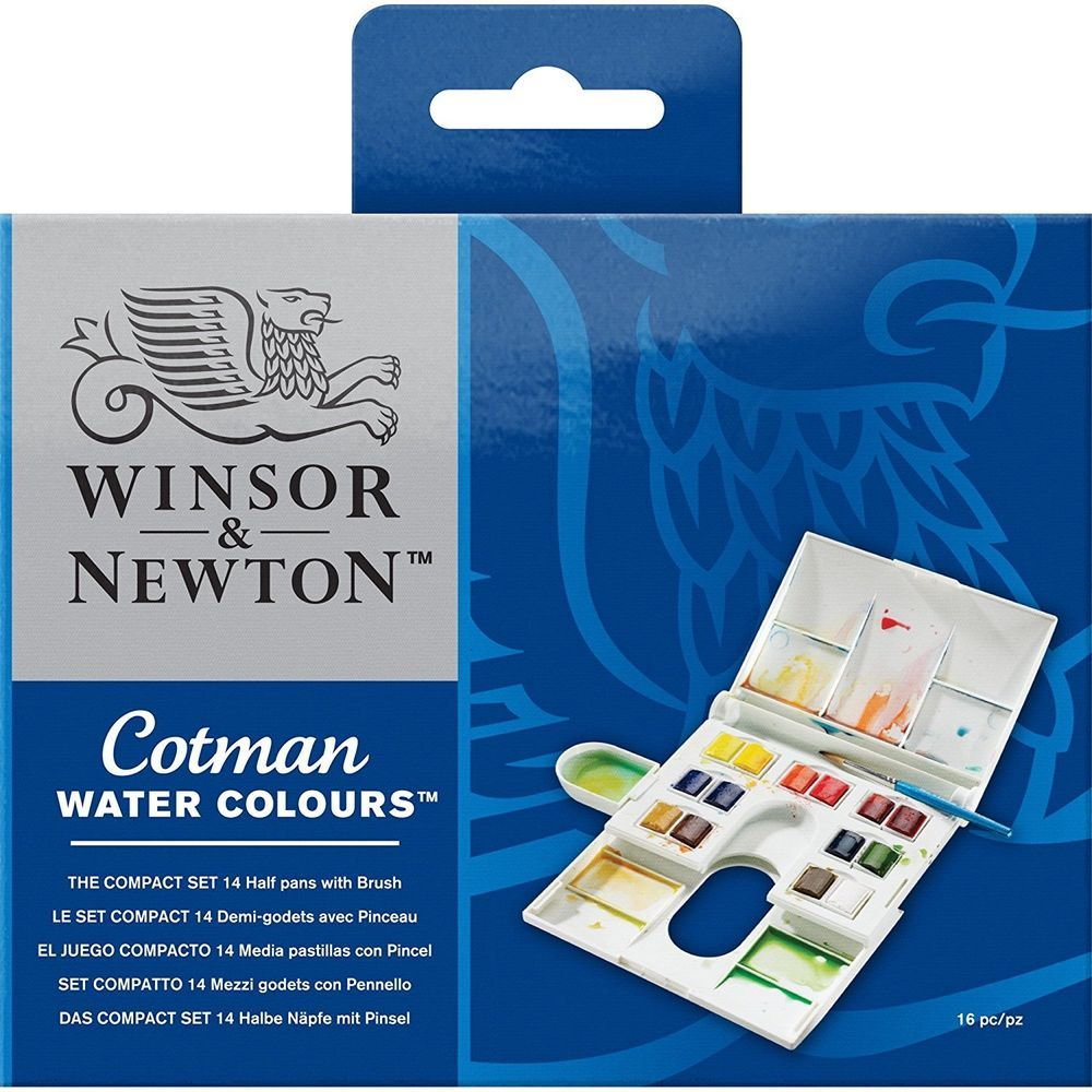 Winsor Newton Cotman Watercolor Compact Set 0390083
