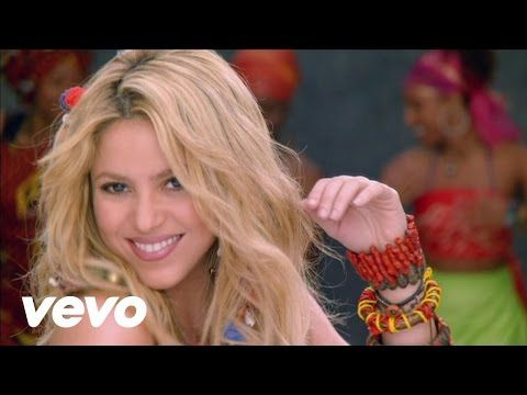 The Top 10 World Cup Songs Of All Time Shakira Music Videos Shakira Music Shakira
