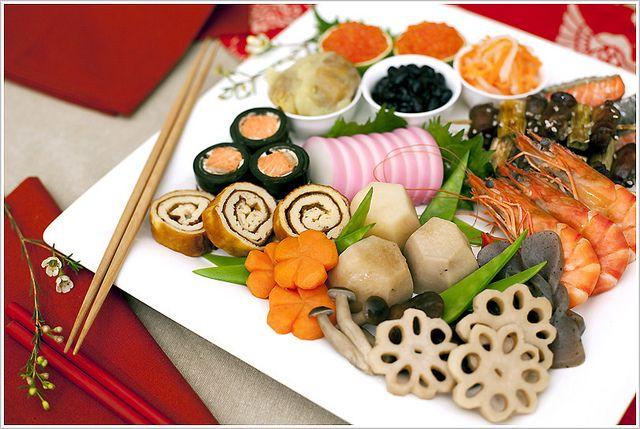 御節 Japanese Traditional New Year's Food | Japanese New ...