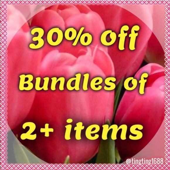 30% OFF BUNDLES - BUNDLE AND SAVE! Using the new bundle festure, you can now bundle items yourself! 30% off bundles of 2 or more items!! WHAT A DEAL!! ❤️ We occasionally have other deals that come up and you will need to let me know if you're interested so I can make a new listing for you  Coach Jewelry