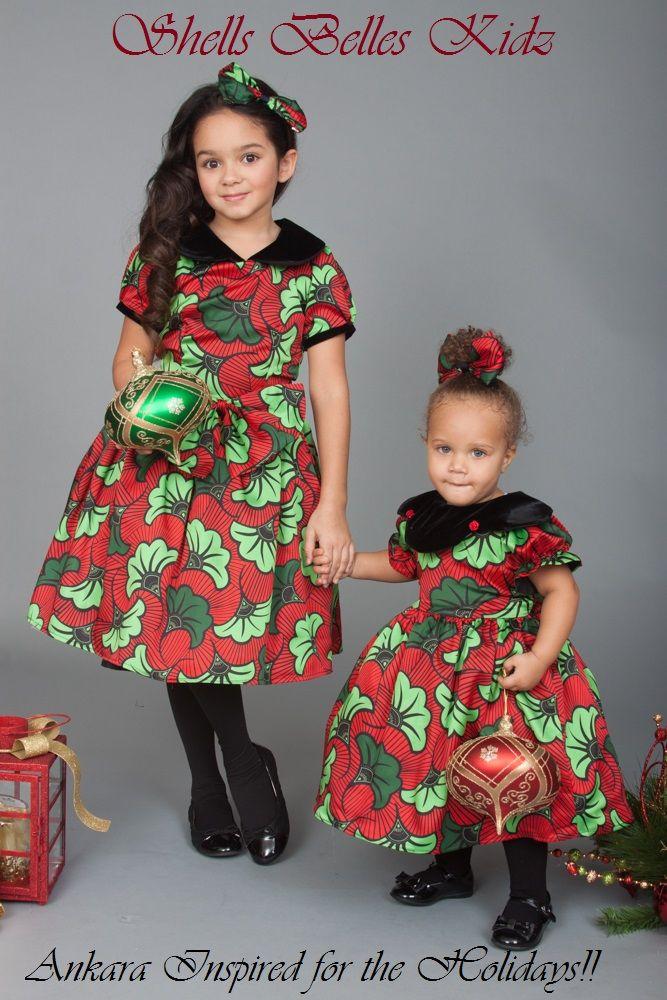 Ankara Styles For Children African Dresses For Kids