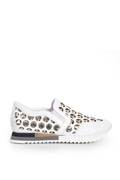 Oli 0601 Spor BEYAZ ALTIN | Sneakers
