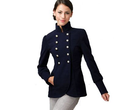 Collection Military Style Womens Jacket Pictures - Reikian