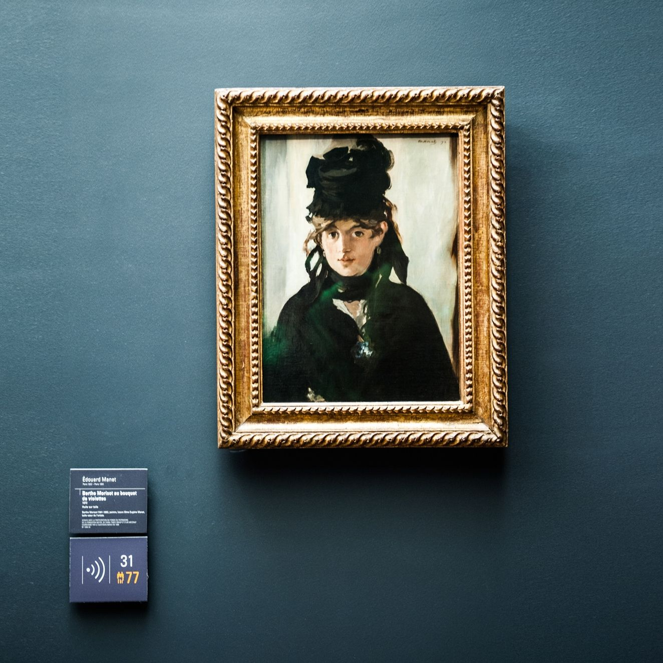 Use your next #museum visit to inspire your home décor. (This is a Manet at the Musée d'Orsay in Paris.) Approaching Storm is a great match. Click through for 4 smart tips from @mrslimestone on MyColortopia.com