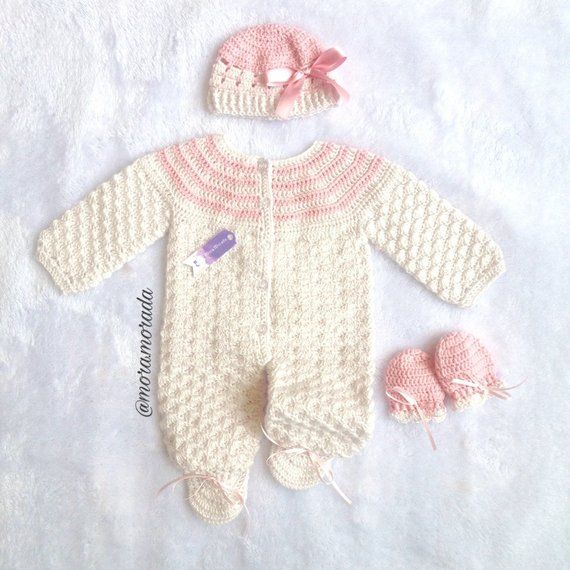 c886b6a0b44a Bring home baby girl outfit, baby knitwear set, handmade baby set, Coming  Home baby Outfit, Clothing