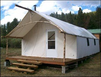 About Sources of Canvas/Synthetic Fabric Wall/Cabin Tents u0026 Living in Tents on a permanent basis. & pinterest tent camping ideas - Google ???????? | Places to Visit ...