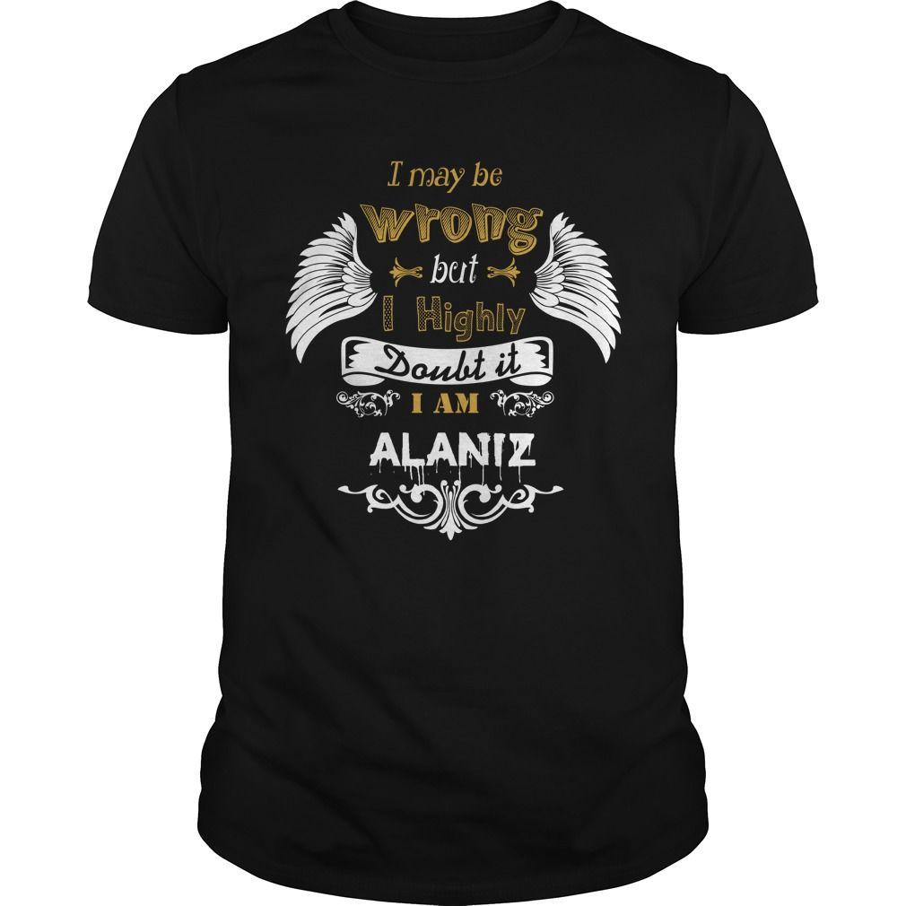 [Popular Tshirt name creator] ALANIZ Best Shirt design Hoodies, Funny Tee Shirts