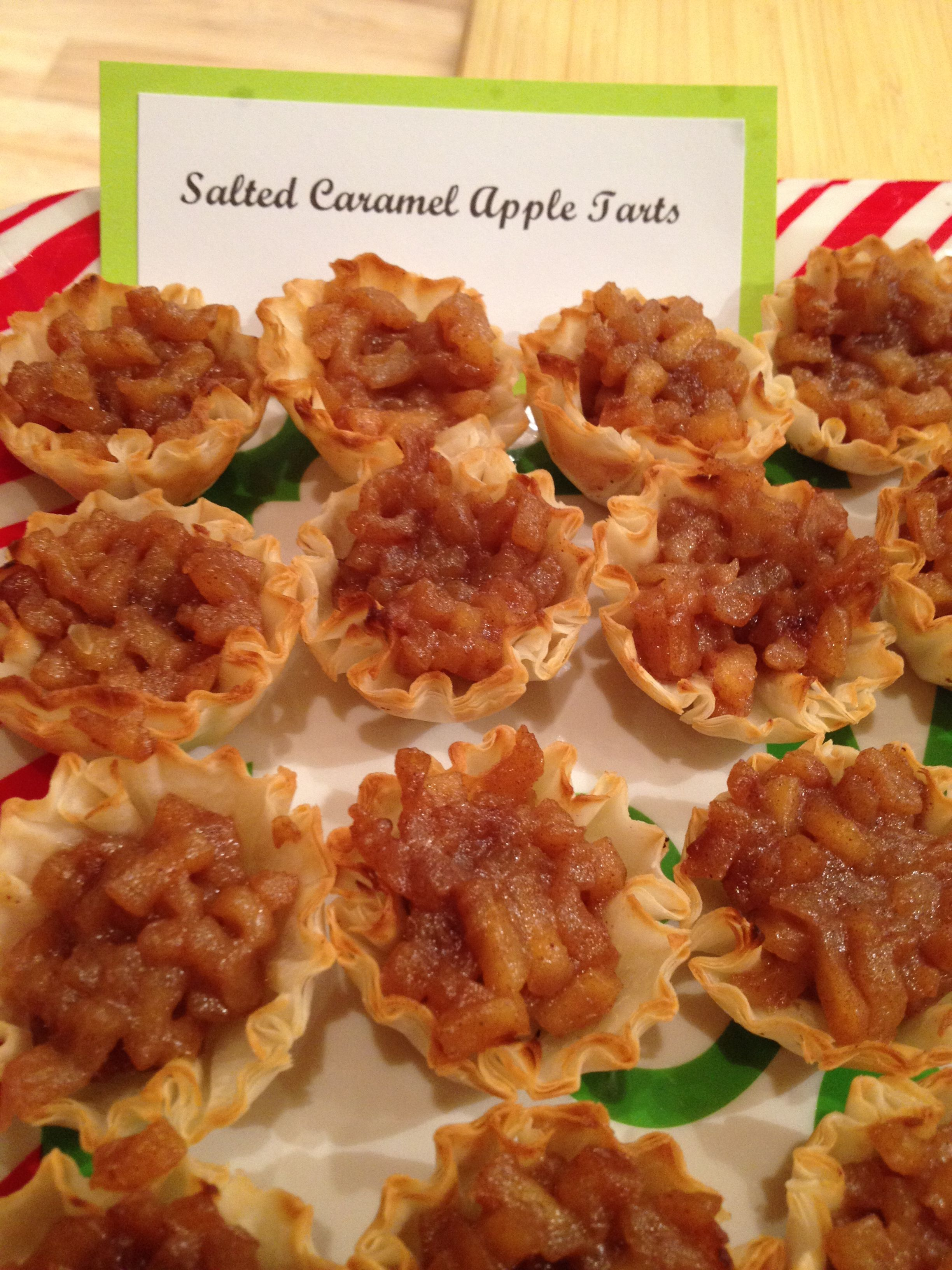 Salted Caramel Apple Tart Filling     Sweet & Saucy Salted Caramel (Sold at Mary Sherwood Lake Living)  Recipe by Chef Yvonne Hoffman  http://yvonnecooks.com/