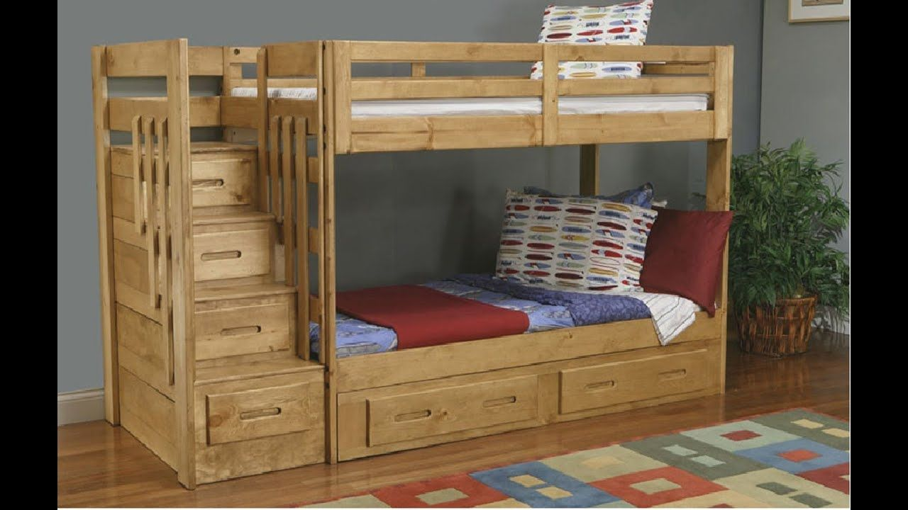 Bunk Beds With Stairs And Drawers Https Www Otoseriilan Com Bunk Bed Steps Bunk Bed Plans Staircase Bunk Bed