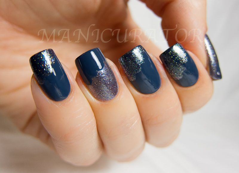 Uñas decoradas color azul, segunda parte con 30 imágenes – Blue ...