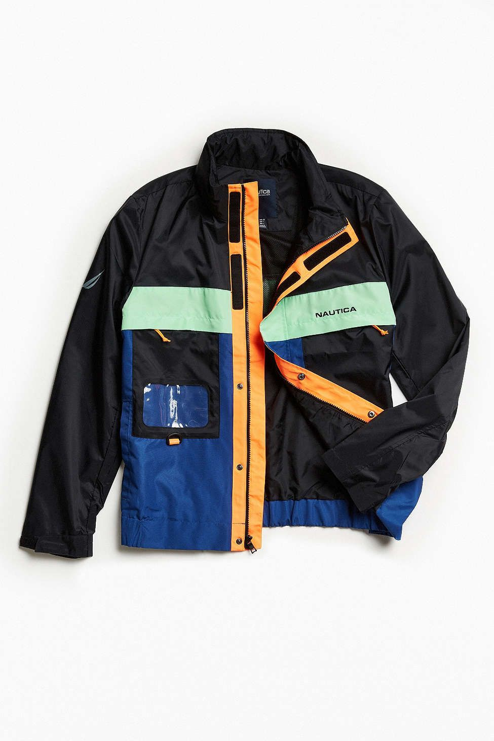 cda8f6623ab Nautica + UO Track Jacket | MODA de Calle | Men's coats, jackets ...