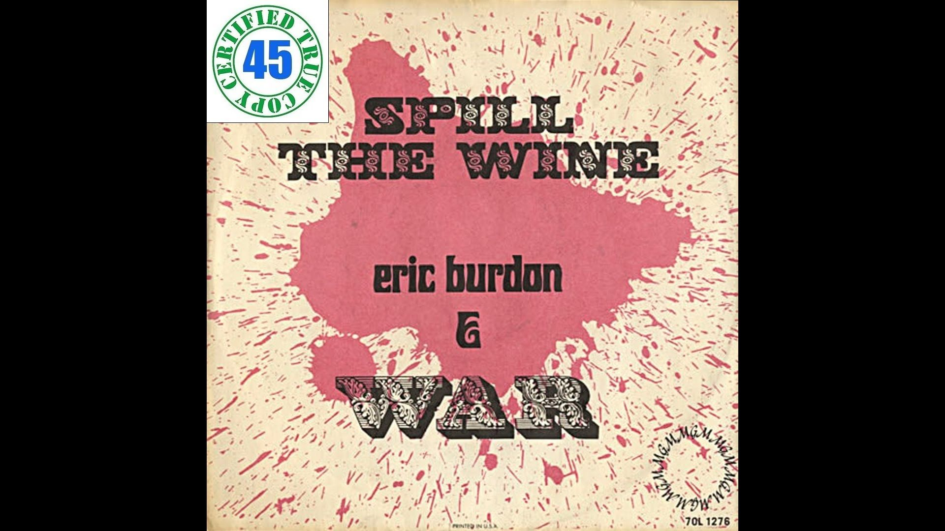 War Spill The Wine Eric Burdon Declares War 1970 Hidef Sotw 126 Eric Burdon Eric My Favorite Music