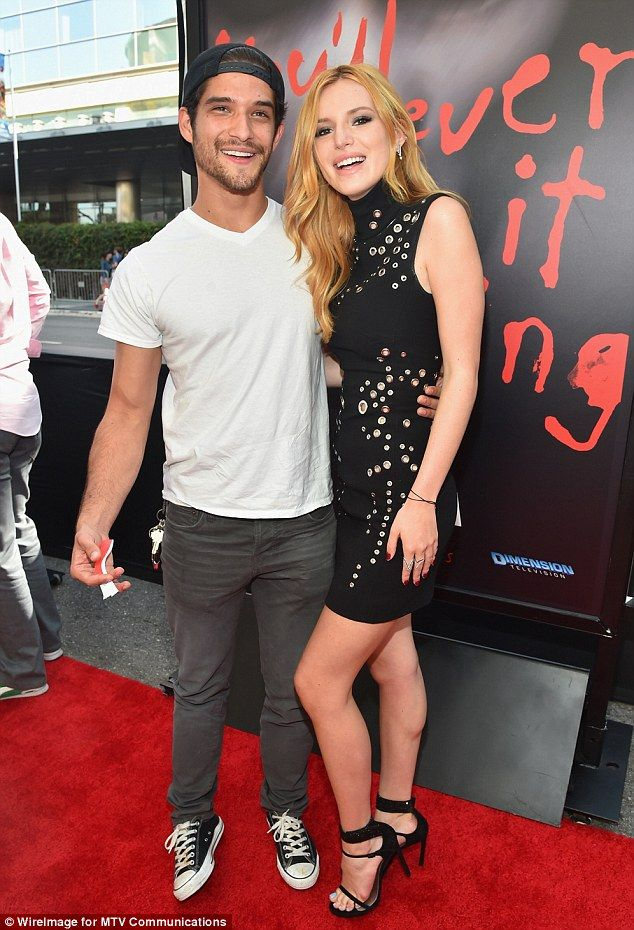Showing his support! Tyler Posey made a casual arrival to the premiere in grey jeans and a...