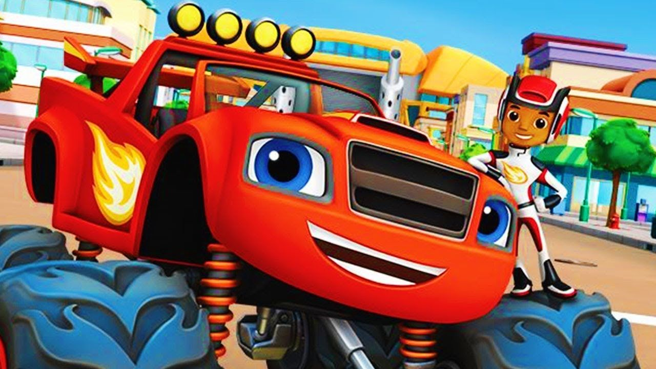 Blaze and Monster the Machines new full episode 2017 - Nick JR video ...