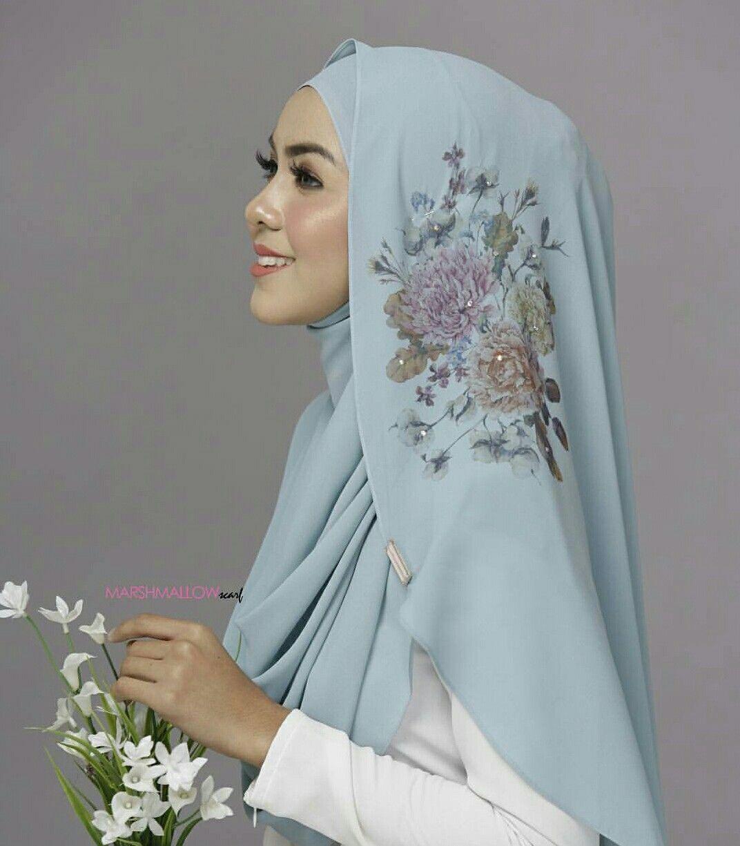 Nice Pattern Hijab Beautiful Hijab Pinterest Patterns