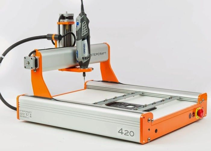 Stepcraft 2 Universal Desktop CNC Machine And 3D Printer