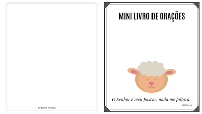 Ovelhinhas Mini Livro De Oracao Livros De Oracao Oracao E