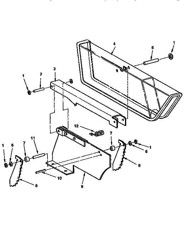 Craftsman Saw Table Guard Assembly Parts