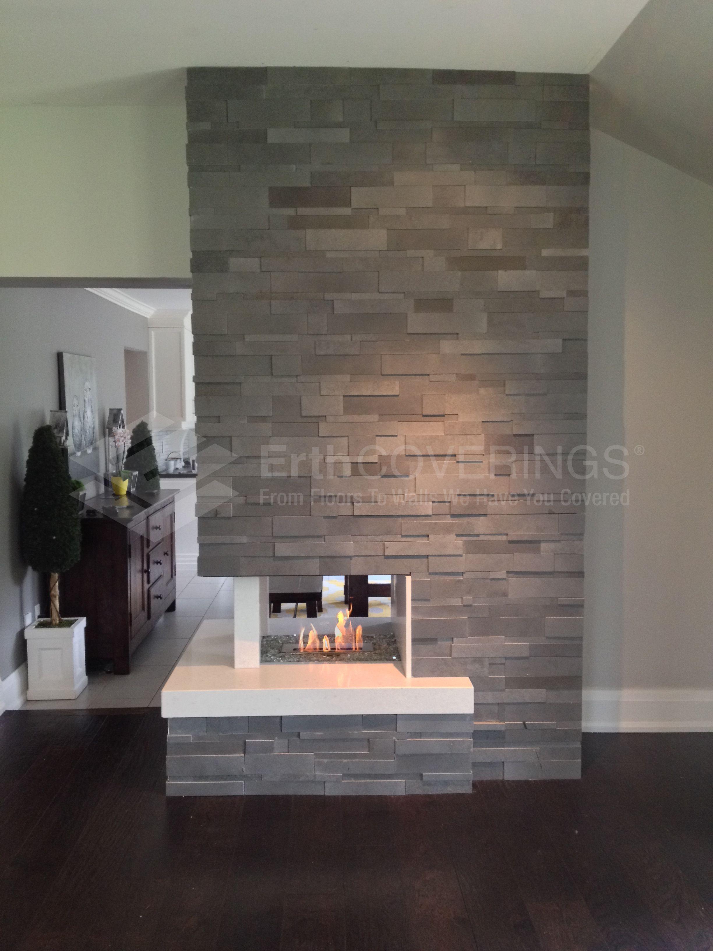 fireplace modern ideas for sided three gas compilation