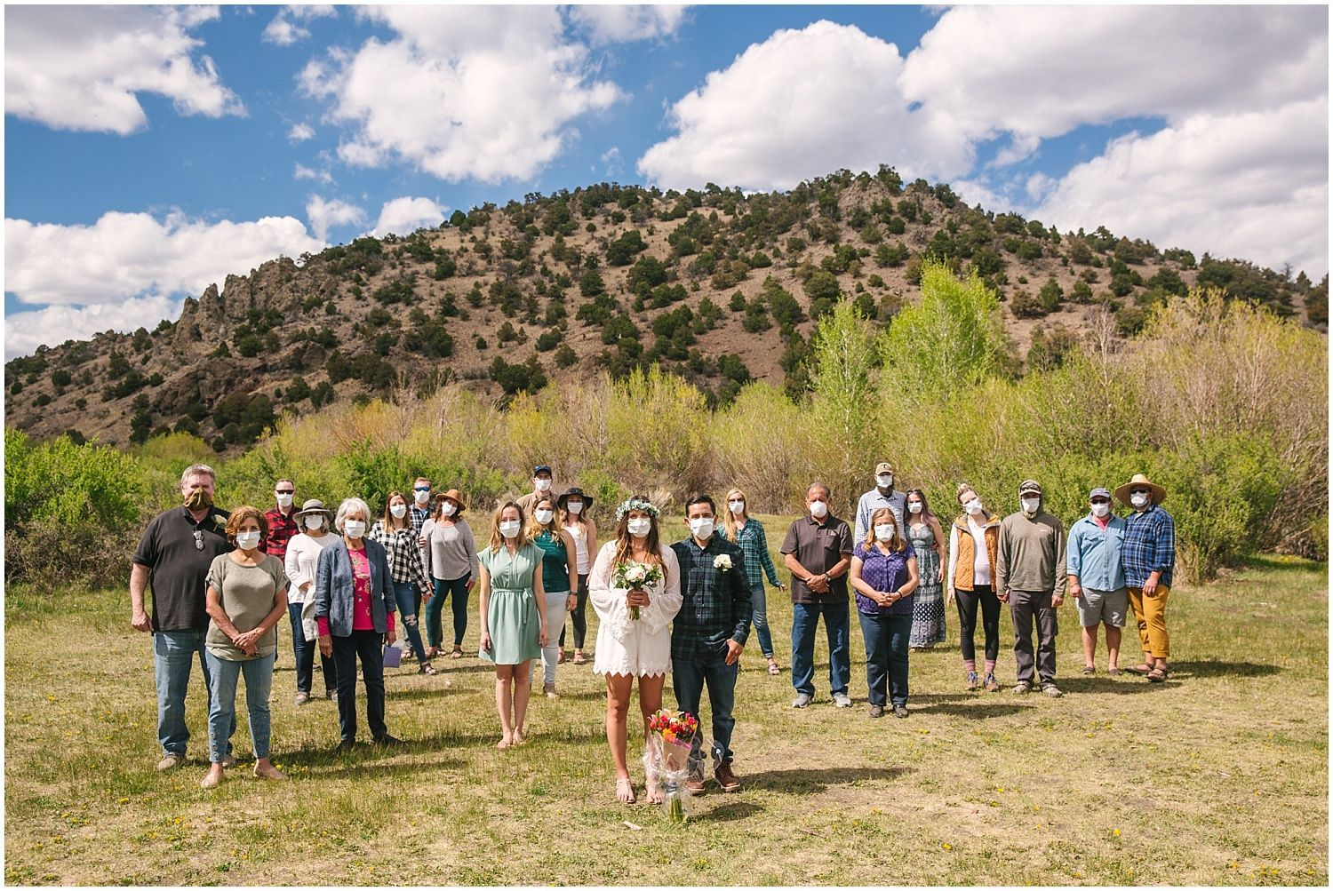 Colorado Backcountry Campsite Elopement in Rio Grande