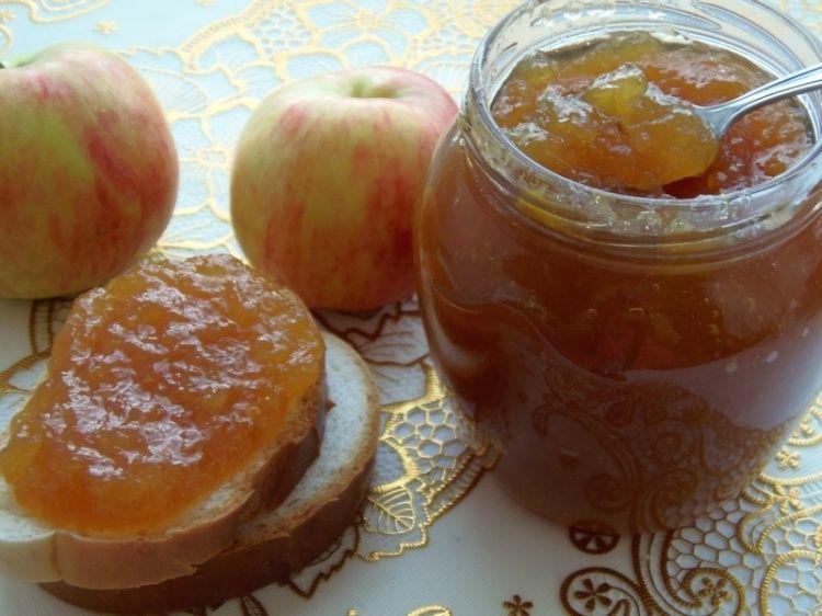 повидло яблочное на зиму рецепт с фото