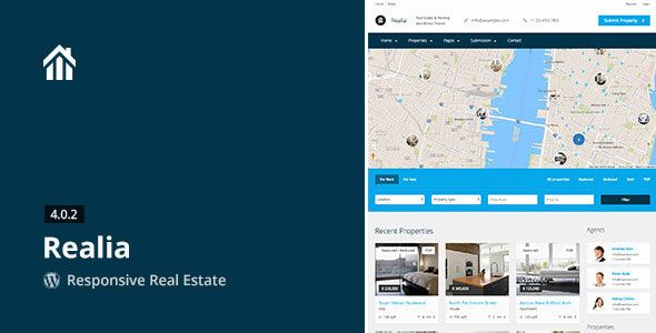 Free Download Realia 430 \u2013 Responsive Real Estate WordPress Theme