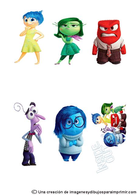 Pegatinas para imprimir de inside out-Imagenes y dibujos para ...