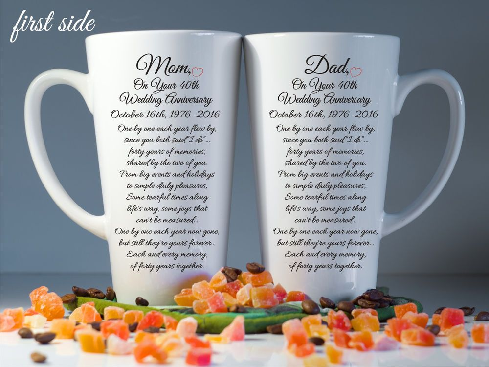 Parents Wedding Anniversary Gift 20th 30th 50th For Parent