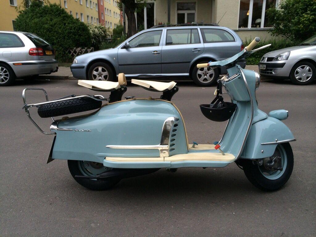 Nsu Prima V Scooters Vespa Motorcycle Und Bike