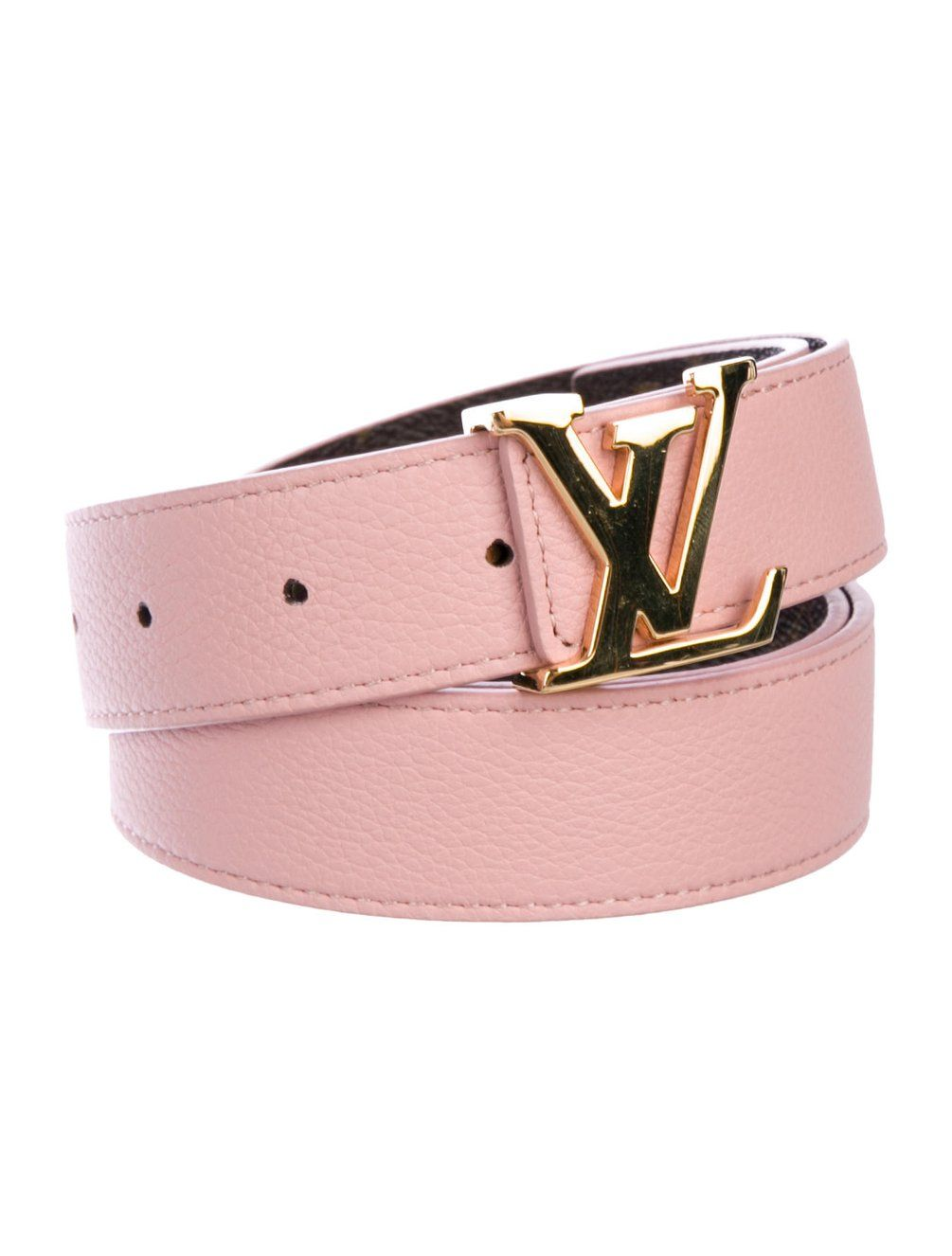 Louis Vuitton 2018 Monogram Initiales 30mm Reversible Belt Accessories Lou208004 The Realreal Louis Vuitton Belt Womens Designer Belts Luxury Belts