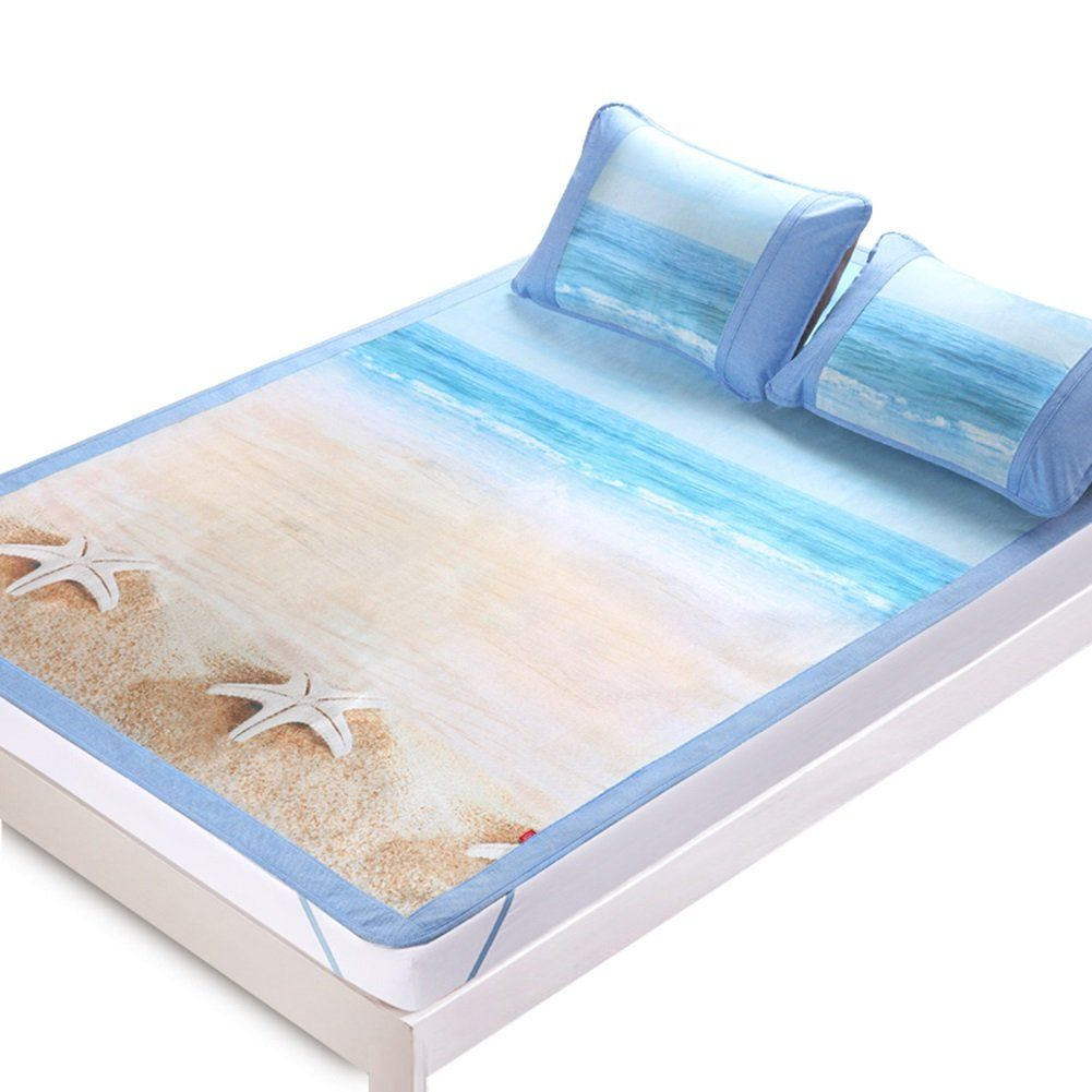 Double Bed Mattress Cover Liangjun Sleeping Mat Summer Mattress Ice Silk Cooling Smooth