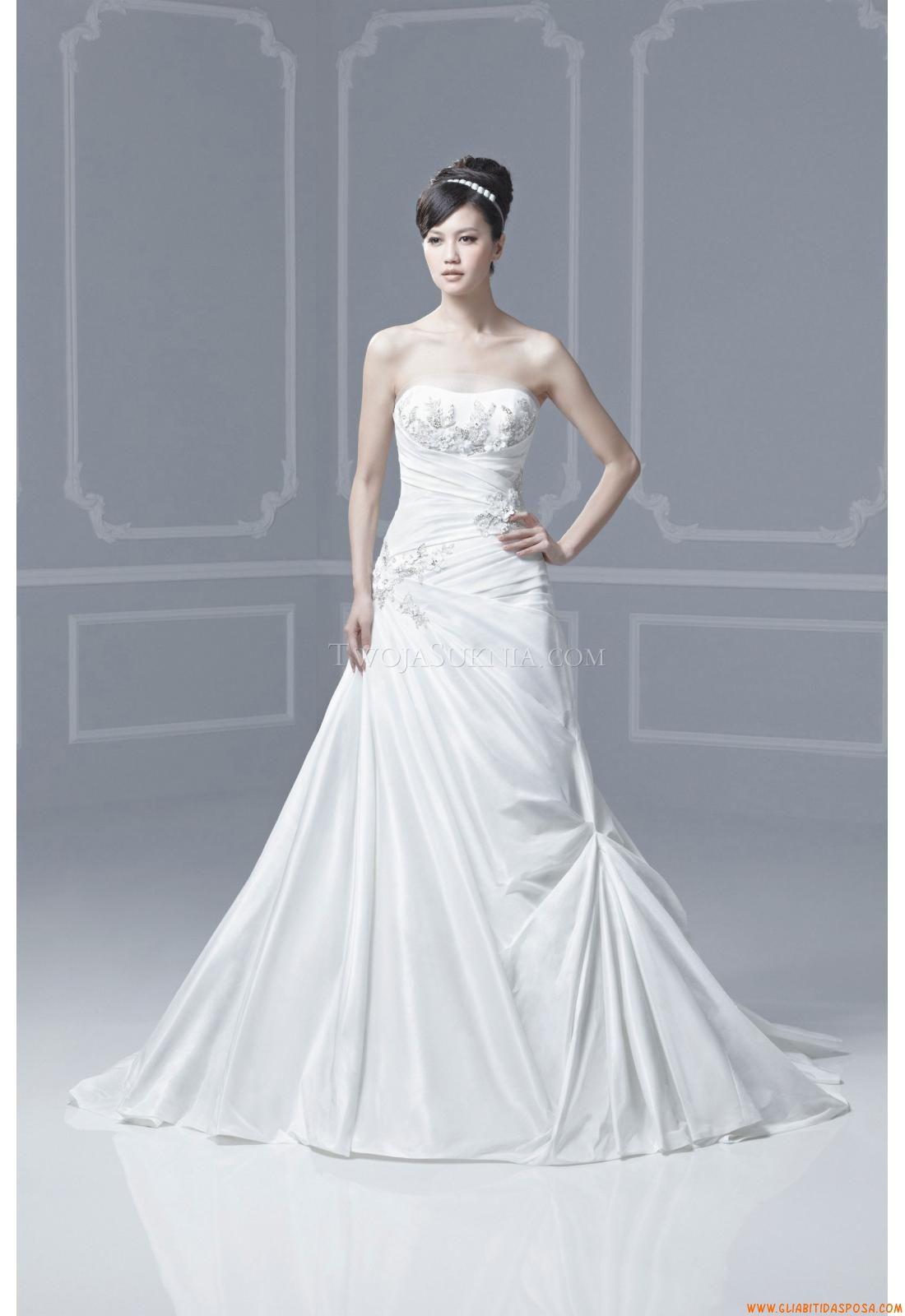 Abiti da Sposa Enzoani Forbes Blue By Enzoani 2013   abiti da sposa ...