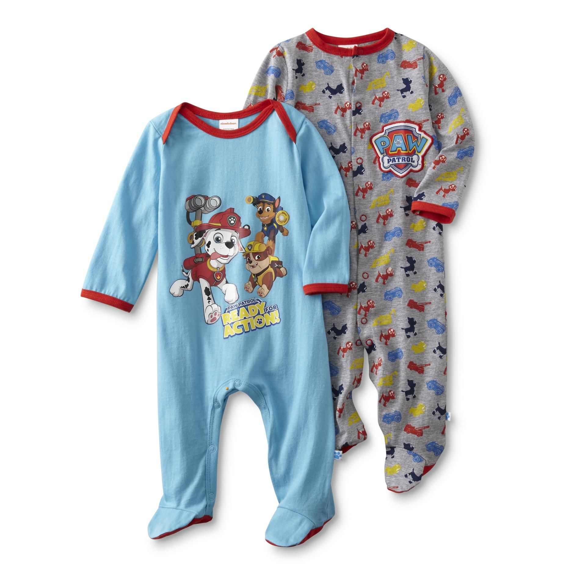 27edc95e5 Nickelodeon PAW Patrol Infant Boy s 2-Pack Sleeper Pajamas
