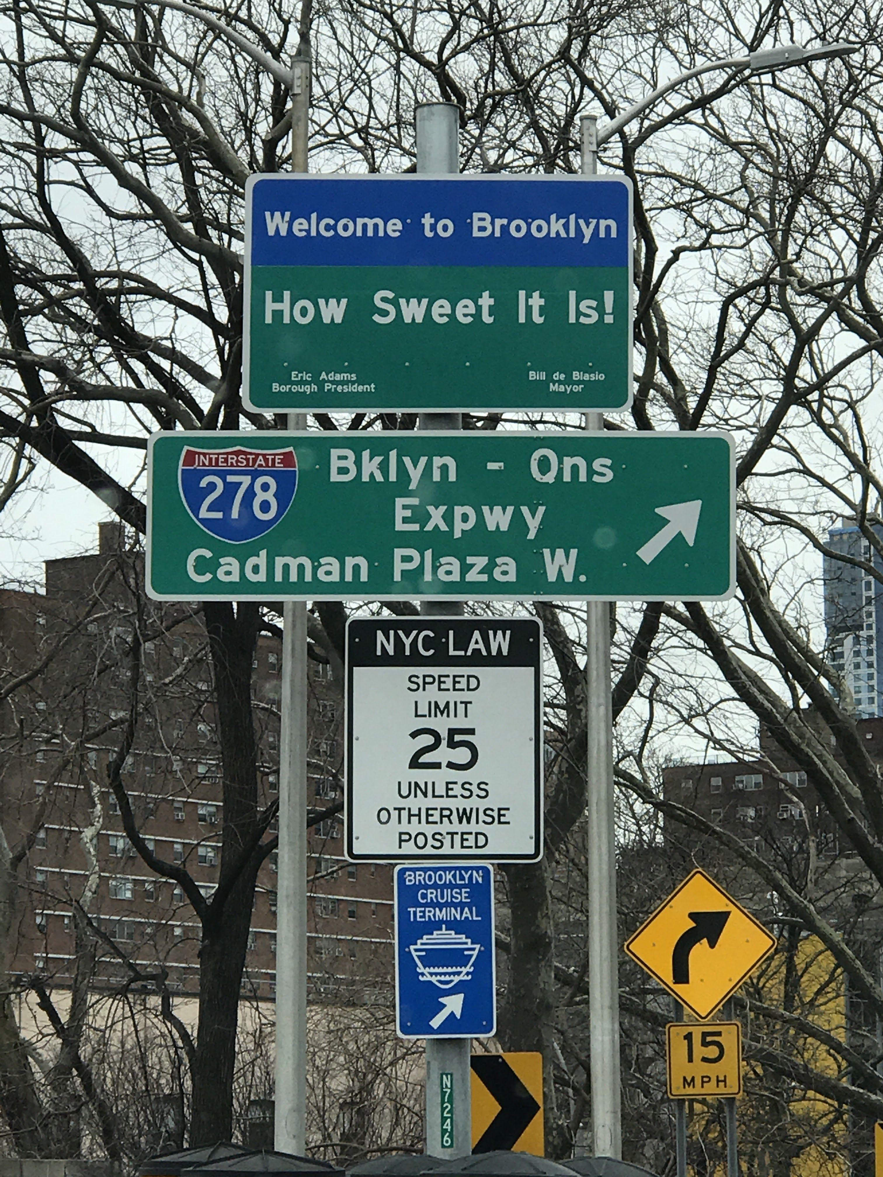Brooklyn Ny Street Signs New York City Photos City Sign I Love Nyc