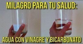 Video Beneficios Del Agua Con Vinagre Y Bicarbonato Agua Con Vinagre
