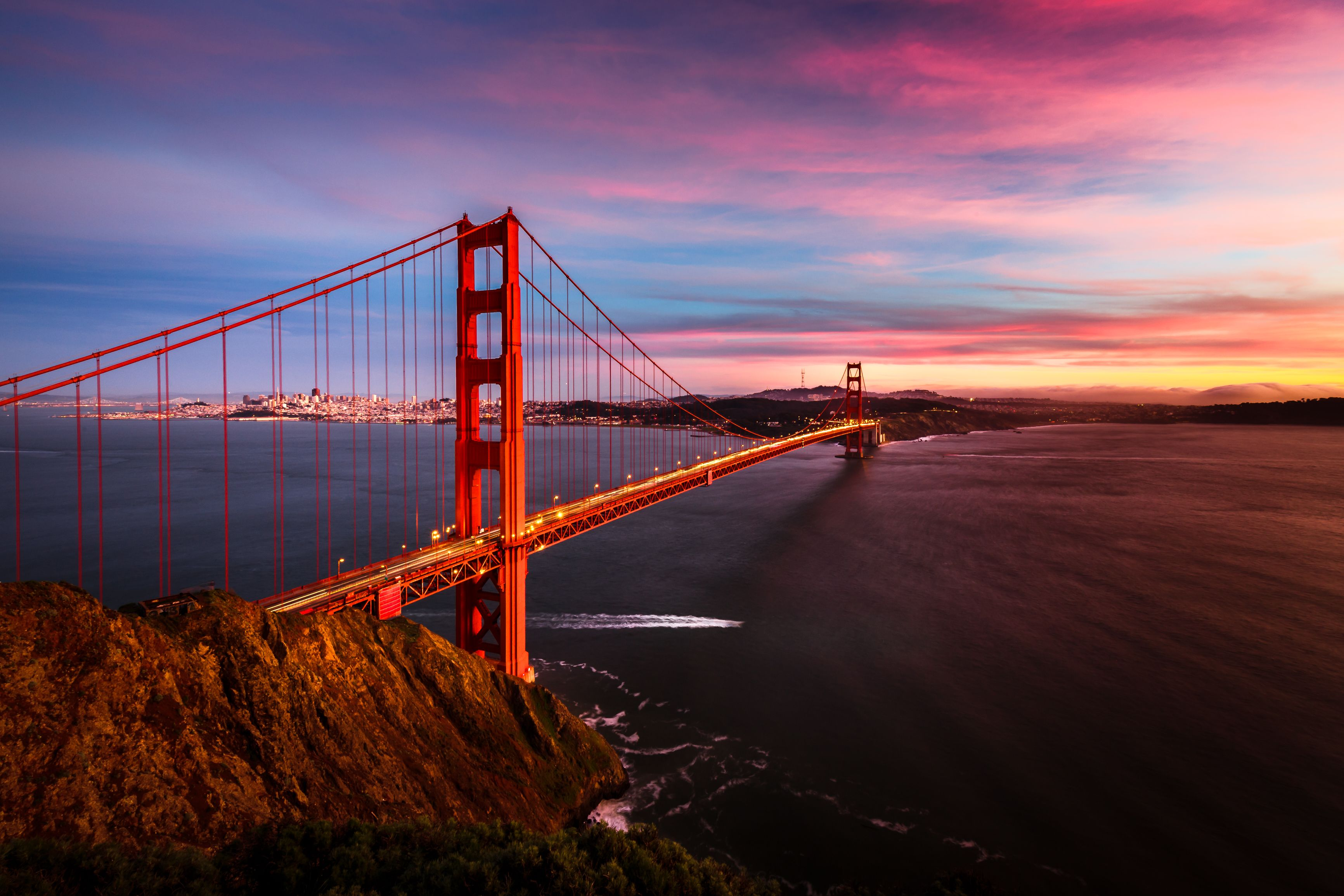 Beautiful Golden Gate Bridge Golden Gate Bridge Golden Gate Sunset Photos
