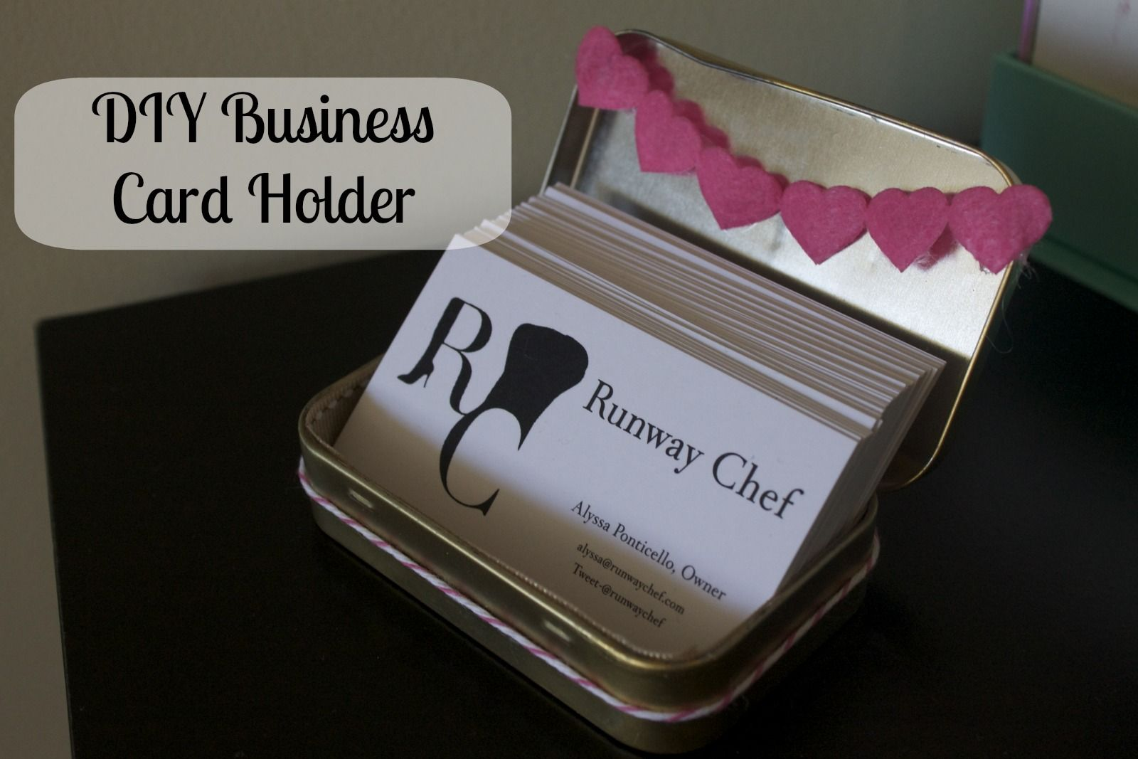 Cute Business Card Holders Gallery - Business Card Template