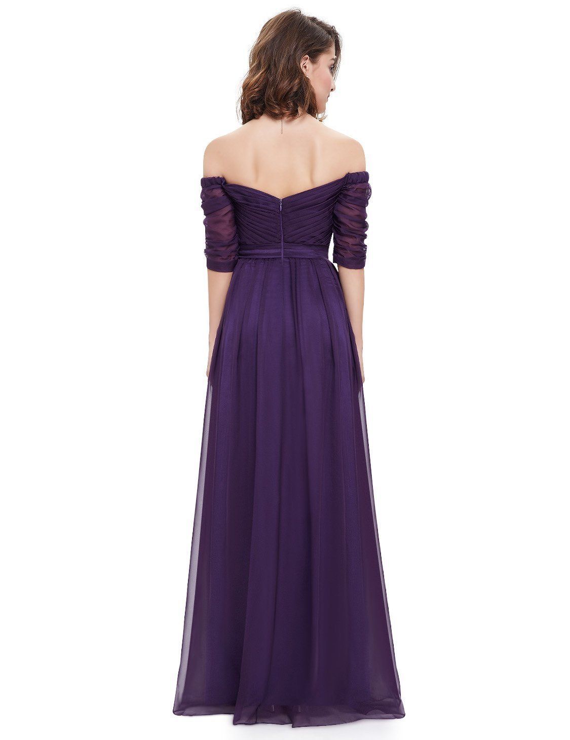 Ever Pretty Off Shoulder Evening Gown with Sweetheart Neckline 08411 ...